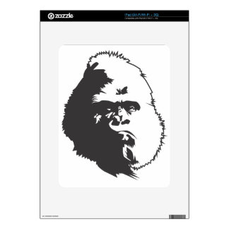 Gorilla Decal For The iPad