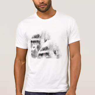 Gorilla stained. T-Shirt