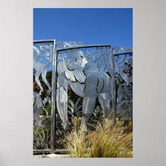 Gorilla Statue Posters