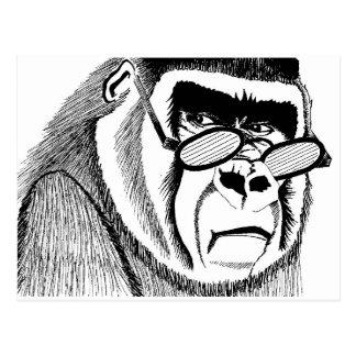 Gorilla Style Postcard