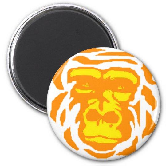 Gorilla Sunrise Magnet