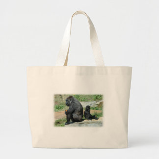 Gorilla Time Out Canvas Bag