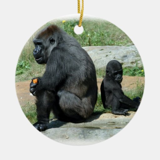 Gorilla Time Out  Ornament