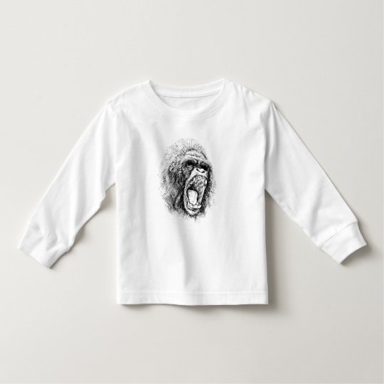 Gorilla Toddler T-shirt