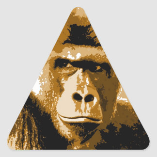 Gorilla Triangle Sticker