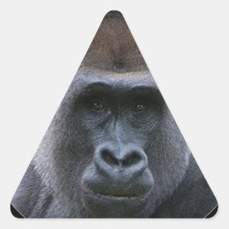 """""""Gorilla"""" Triangle Sticker"""