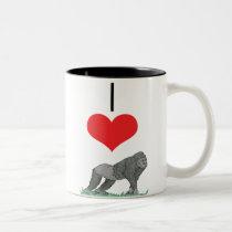 gorilla Two-Tone coffee mug