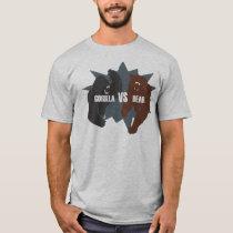 Gorilla vs Bear T-Shirt