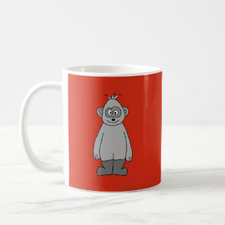 Gorilla Wearing Boots. Classic White Coffee Mug
