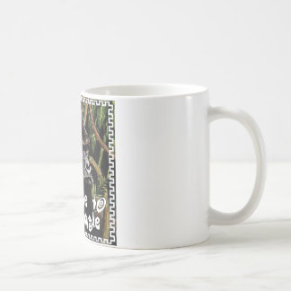 gorilla welcome ton the jungle coffee mug