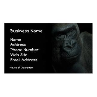Gorilla Wildlife Primate Wild Animal Endangered Business Cards