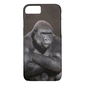 Gorilla with Attitude iPhone 7 Case