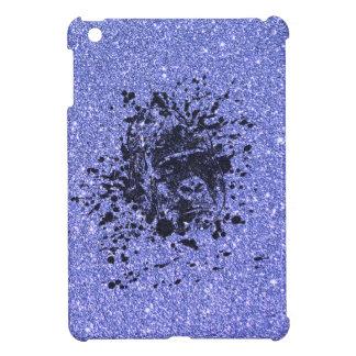 Gorilla with Blue Glitter Cover For The iPad Mini