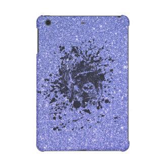 Gorilla with Blue Glitter iPad Mini Cover