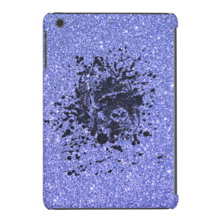 Gorilla with Blue Glitter iPad Mini Retina Cover