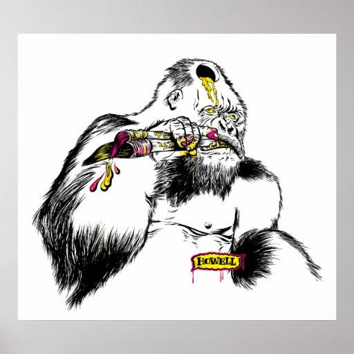 Gorilla x Artist Poster