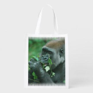 Gorilla Reusable Grocery Bags