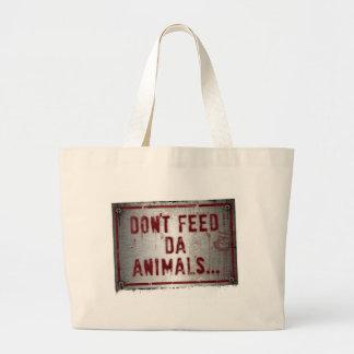 Gorilla Zoe Bag - Don't Feed Da Animals