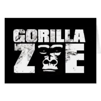 Gorilla Zoe Card - Logo