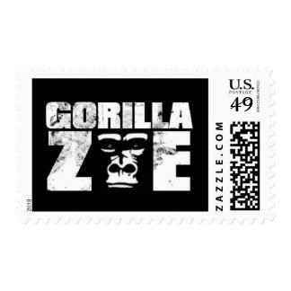 Gorilla Zoe Stamps - Logo