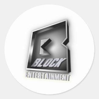 Gorilla Zoe Sticker - Block Enterprises Black