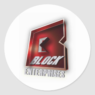 Gorilla Zoe Sticker - Block Enterprises Red