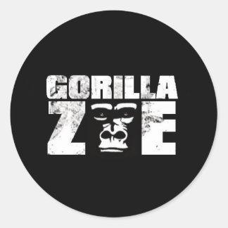 Gorilla Zoe Sticker - Logo