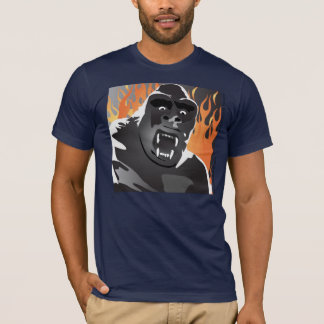Gorilla's Firey Destruction shirt