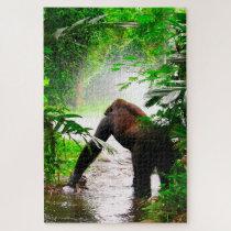 Gorillas. Jigsaw Puzzle