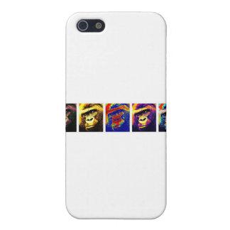 Gorillas Pop Art Cover For iPhone SE/5/5s