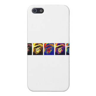 Gorillas Pop Art iPhone 5 Case