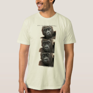 Gorillas: Save the Congo Rainforest T-Shirt