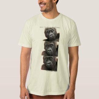 Gorillas: Save the Congo Rainforest T Shirt
