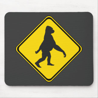Gorillas Xing! Mouse Pad