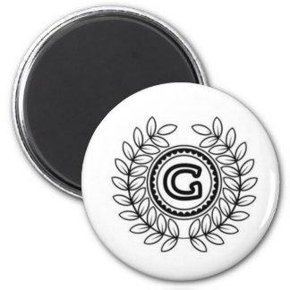 """GorillaTimeMachine """"G"""" Gear Magnets"""