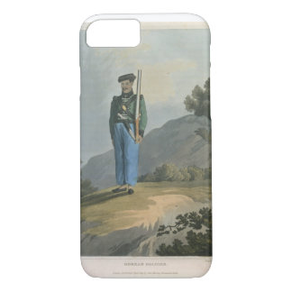 Gorkah Soldier, from 'Journal of a Route Across In iPhone 7 Case
