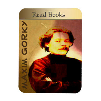 Gorky Rectangular Photo Magnet