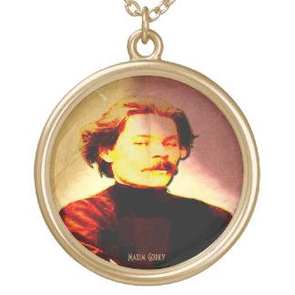 Gorky Round Pendant Necklace