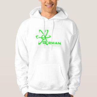 Gorman Industries Green Hooded Sweat shirt