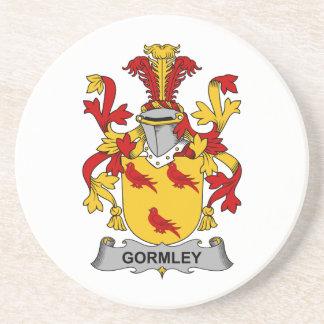 Gormley Family Crest Beverage Coaster
