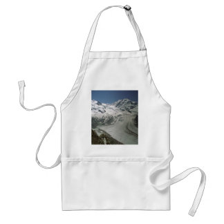 Gorner Glacier near Zermatt, Switzerland Apron