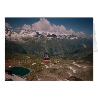 Gornergrat Mountain View Card