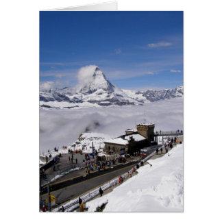 Gornergrat Station in Switzerland Card