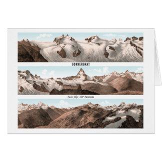 GORNERGRAT Swiss Alps 360° Panorama Card