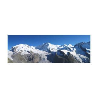 Gornergrat Swiss Alps Canvas Print