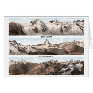 GORNERGRAT Swiss Alps Panorama 360° Card