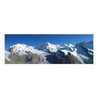 Gornergrat Swiss Alps Photo Print