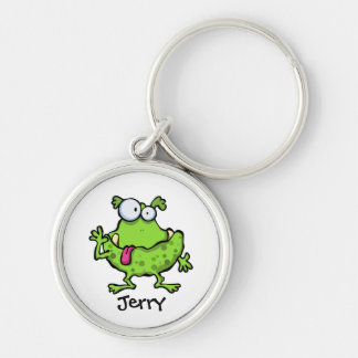 Gornk The Green Spotted Monster Keychain