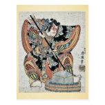 Goro de Yanone por Torii, Kiyomitsu II Ukiyoe Postal