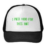 Gorra $100